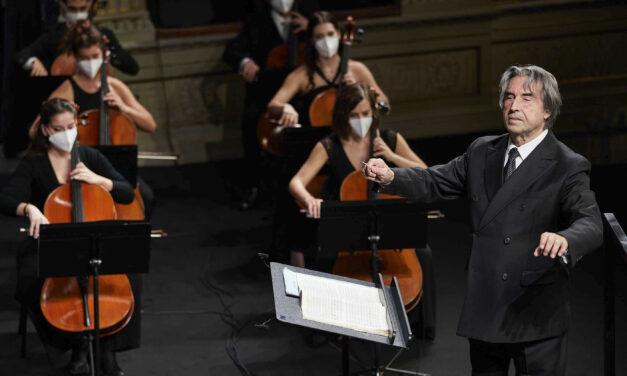 RICCARDO MUTI E LA CHERUBINI IN STREAMING DAL TEATRO ALIGHIERI