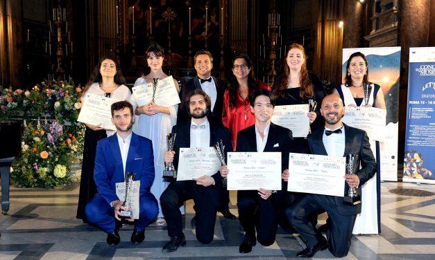Gli 8 vincitori del Concorso Internazionale Musica Sacra 2021
