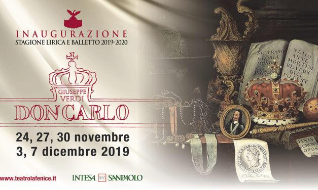 Don Carlo inaugura la stagione del Teatro La Fenice