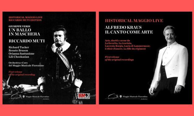 """Pomeriggio alla Casa Verdi per presentare i nuovi CD """"Un ballo in maschera"""" di Giuseppe Verdi e """"Alfredo Kraus. Il canto come arte"""" della collana Maggio Live"""