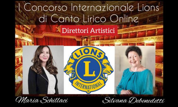 I CONCORSO INTERNAZIONALE LIONS DI CANTO LIRICO ONLINE