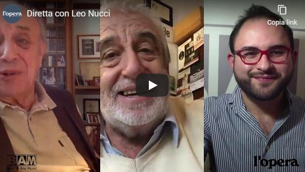 Due chiacchiere col Maestro Nucci