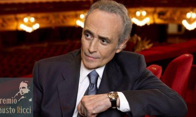 José Carreras Presidente all'8ª edizione del Premio Fausto Ricci