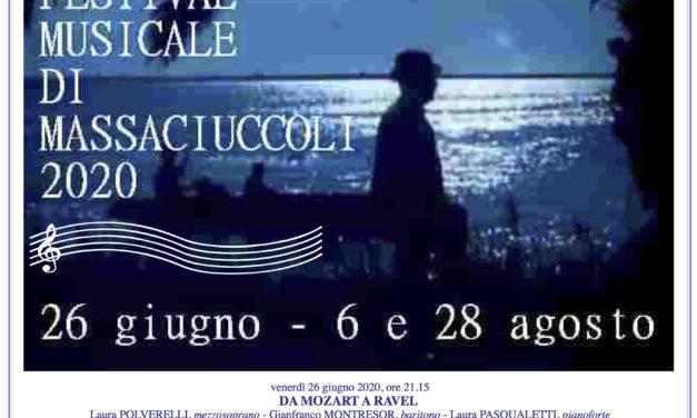 Festival Musicale Massaciuccoli 2020