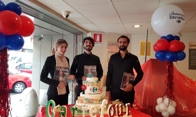 L'opera all'anniversario Carrefour