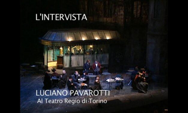 Luciano Pavarotti nella Bohème al Teatro Regio di Torino
