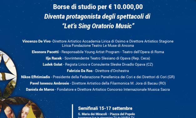 """Concorso Internazionale """"Musica Sacra"""" 2021"""